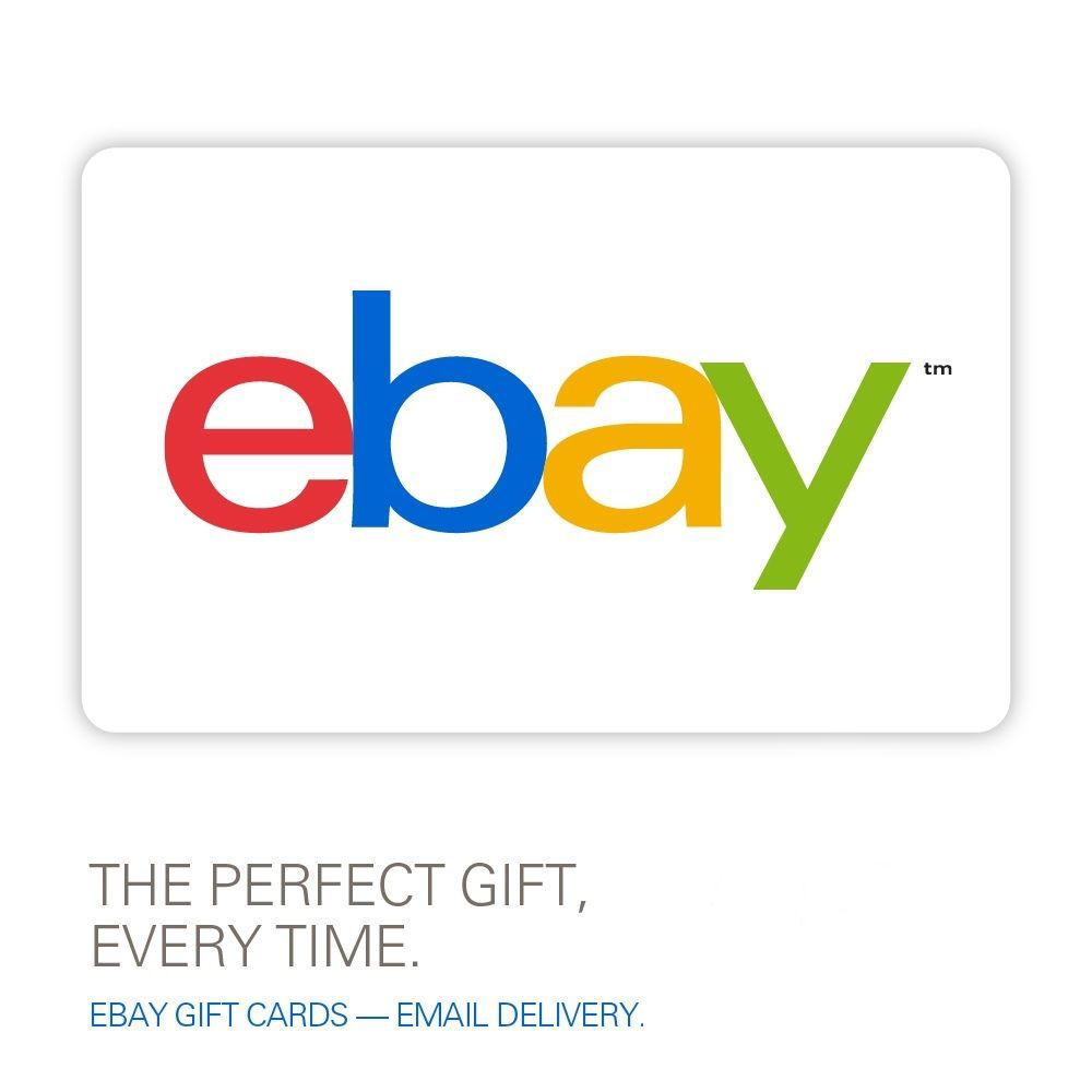 eBay Gift Card $10 to $200 - Email Delivery | WISH LIST