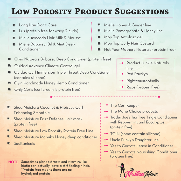 Low Porosity Hair — The Mestiza Muse