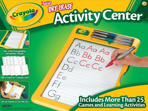 fournir beaucoup de à bas prix pas de taxe de vente Crayola effaçables à sec activité Centre- | Jouets - Cadeaux ...