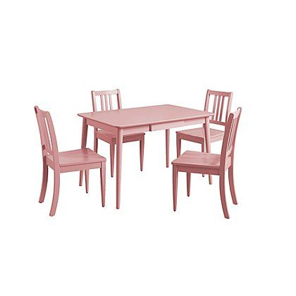 George Home Sadie Dining Set And Chairs Pink Dining Tables Chairs George At Asda Dining Table Chairs George Home Furniture Offers