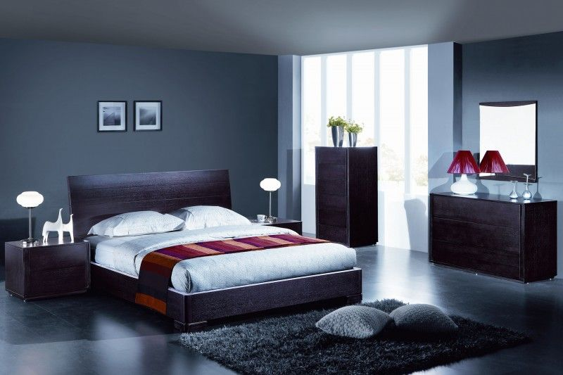 for Photo chambre a coucher moderne
