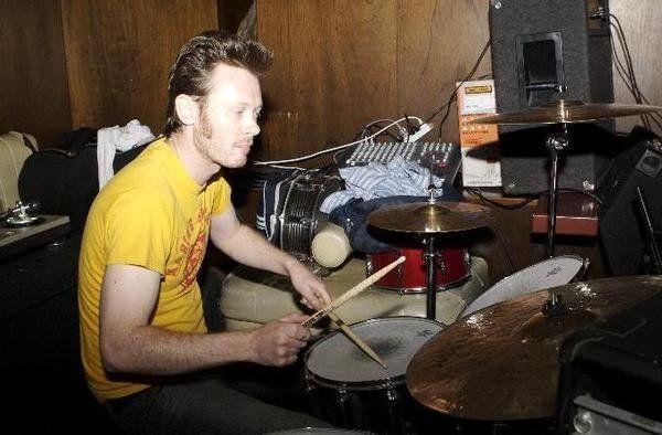 Drumming is fun.