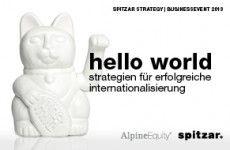 "2. spitzar Business Event ""hello world"""