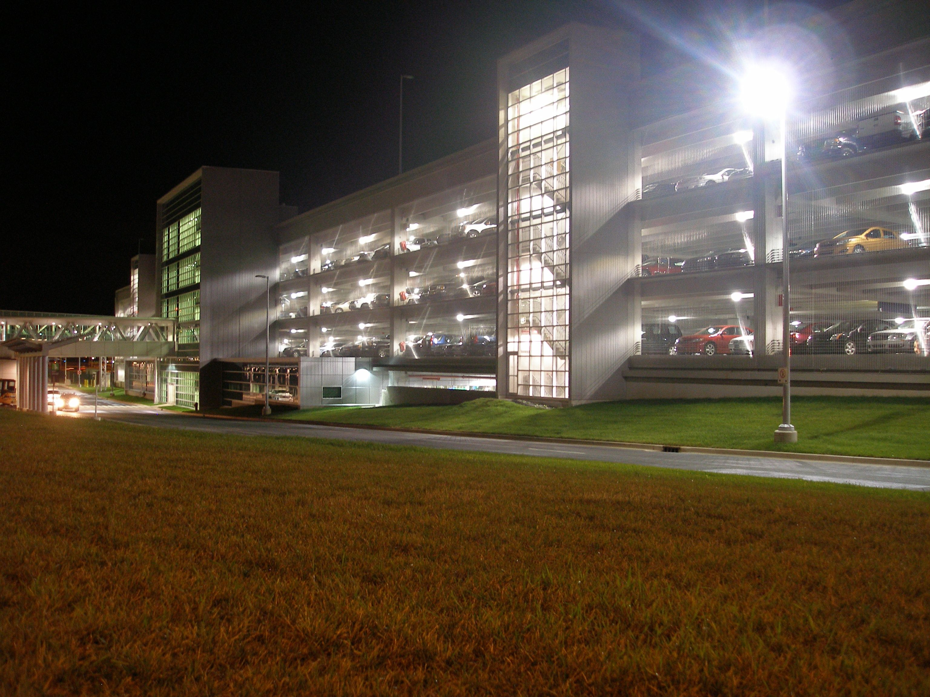 Tyler Mesh Parking Garage Facade Exteriors Halifax Stanfield International Airport