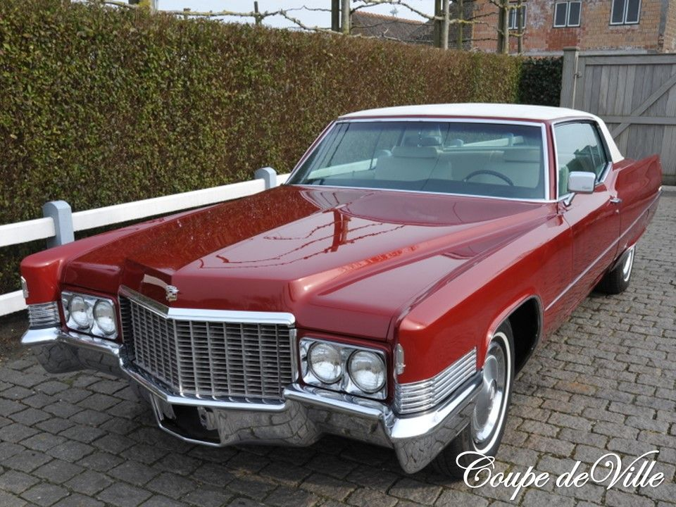The 1970 Cadillac Coupe De Ville In All Its Class And Glory