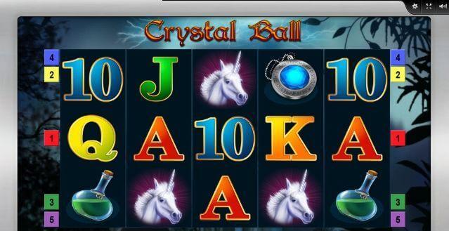 Crystal Ball und der Blick in eine ungewisse Zukunft, bally wulff, spielautomaten
