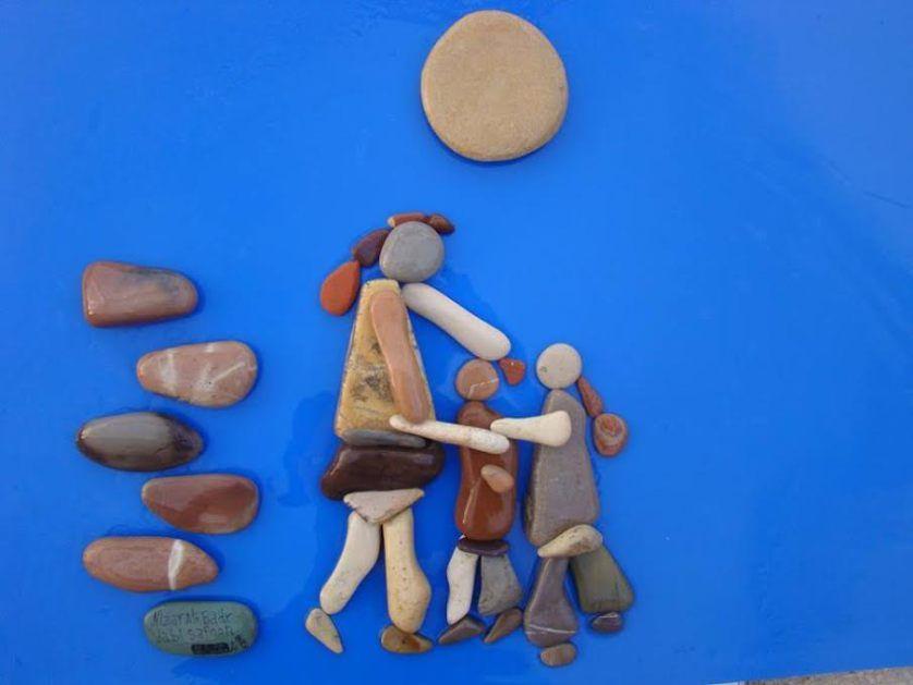 الفنان نزار علي بدر حجارة جبل صافون ومأساة وطن Russia Now Stone Art Rock Art Art