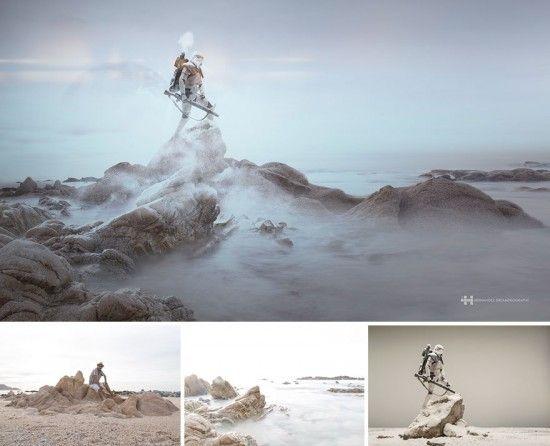 Contoh Foto Landscape Pegunungan Berkabut Pemandangan Fotografi Teknik Fotografi