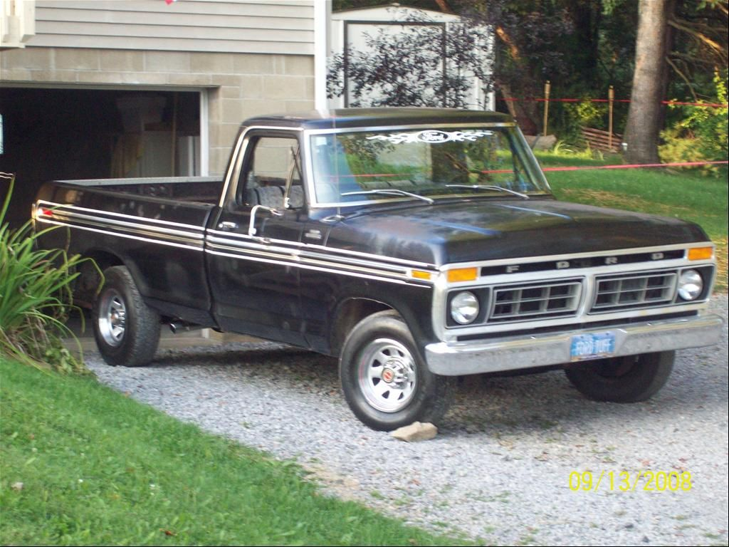 1977 ford f100 this is my 1977 ford f100 ranger powered by a 302 and