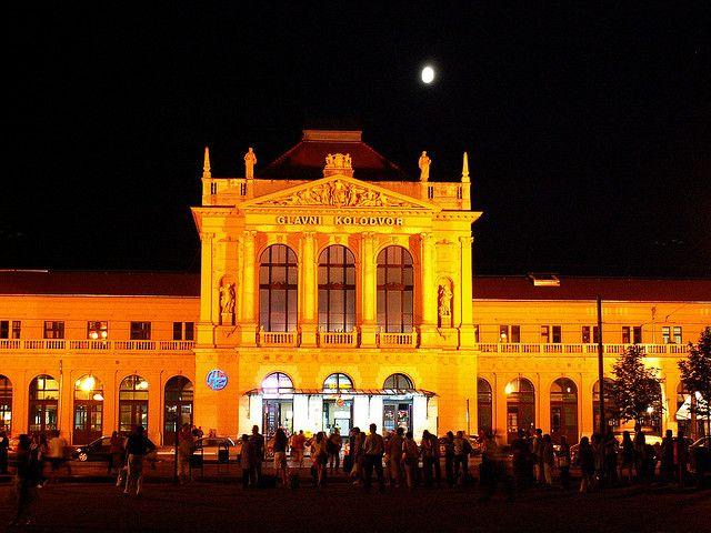 Zagreb Croatia Glavni Kolodvor Central Railway Station Zagreb Croatia Zagreb Croatia