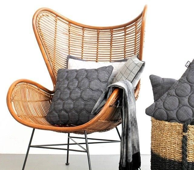 stoel egg fauteuil naturel rotan hk living rotan fauteuil en huiskamer. Black Bedroom Furniture Sets. Home Design Ideas