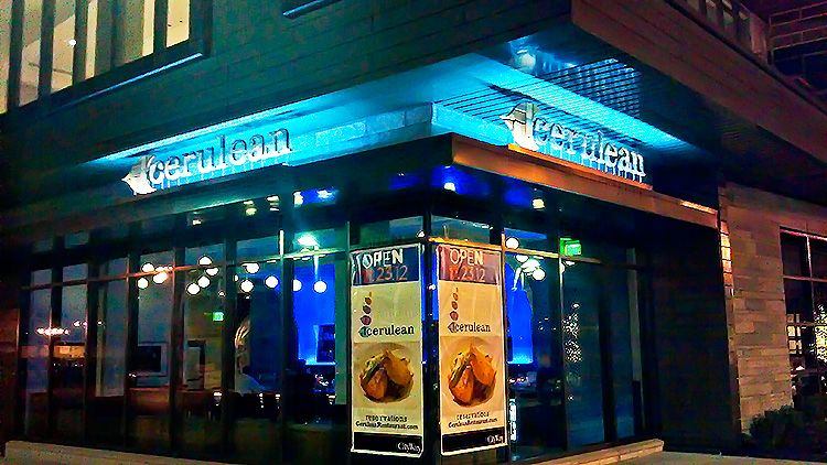 Cerulean Restaurant 339 S Delaware Street In Downtown Indianapolis Indiana