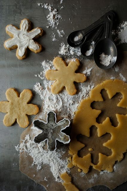 Snowflake Sugar Cookies | How To: Simplify