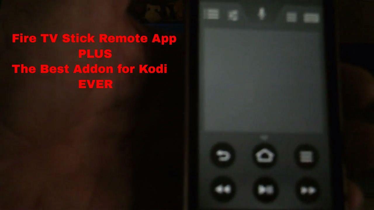 Amazon fire tv remote app installing exodus to kodi 16 1