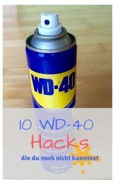 10 WD-40 Hacks, die du noch nicht kanntest   - neu -