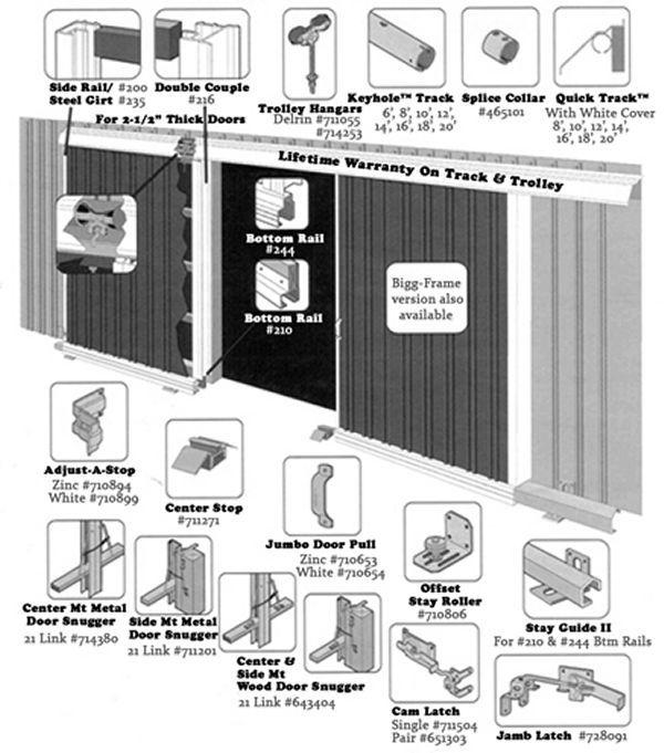 how to build sliding barn doors for a pole barn