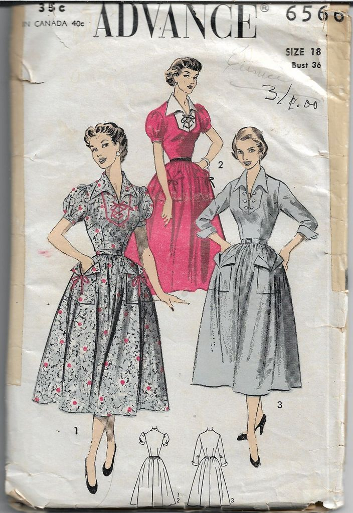 1940s Style Plunge Neck Gathered Front Bodice and Skirt Dress with Optional Cape Collar Custom Made in Your Size From a Vintage Pattern