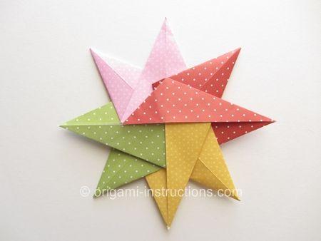 Etoile Et Plein Dautres Tutos D Origamis Dtoiles Httpwww