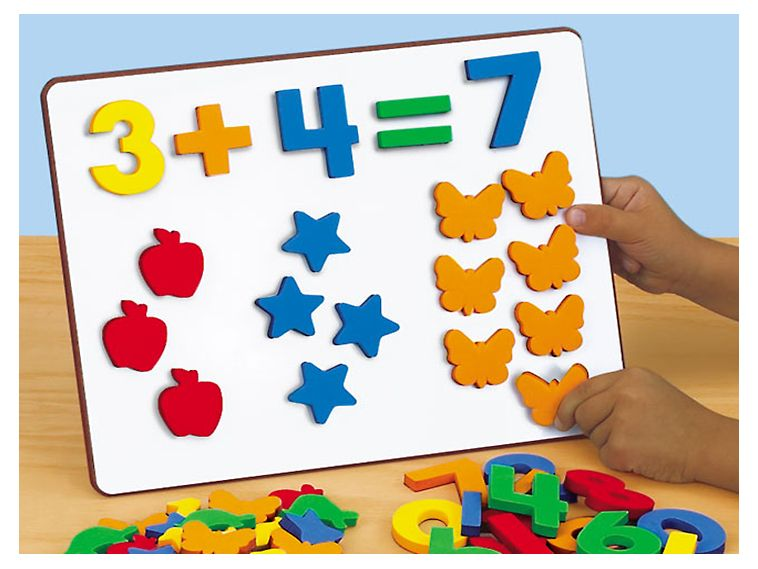 Magnetic Numbers & Counters