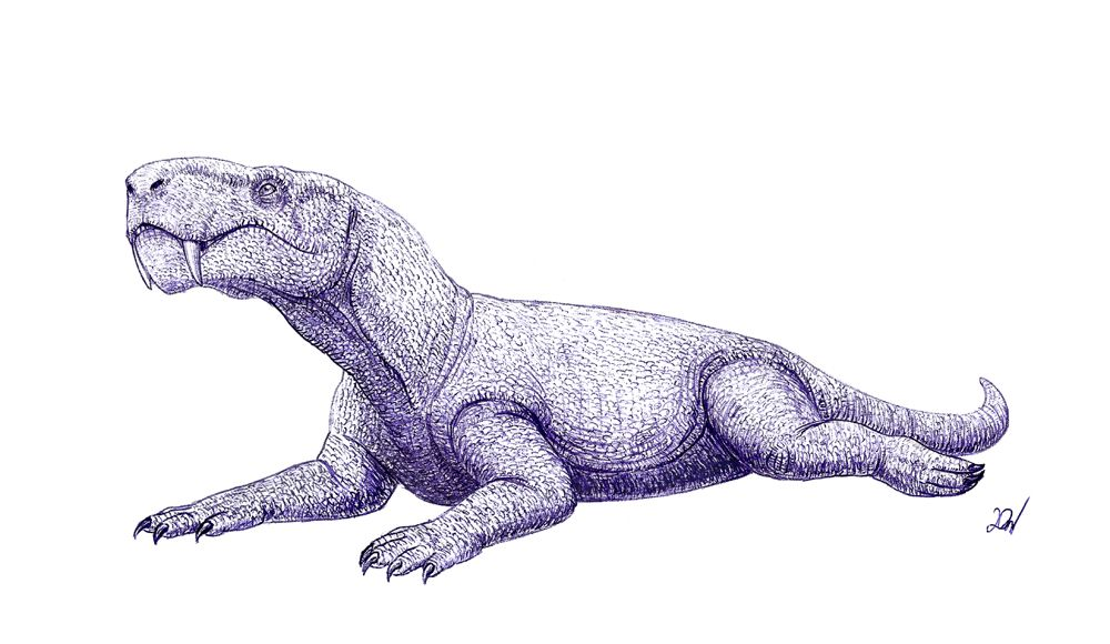 11++ Animals drawn like dinosaurs images