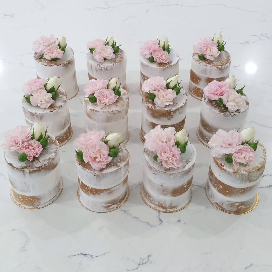 Mini naked cake mimosa - graziaintavola