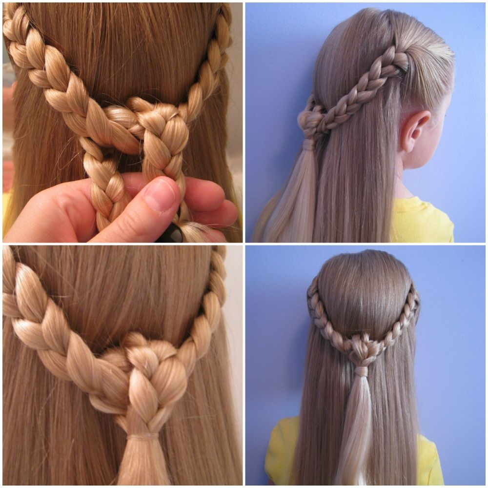 ten quick and easy hairstyles for your daughter which even