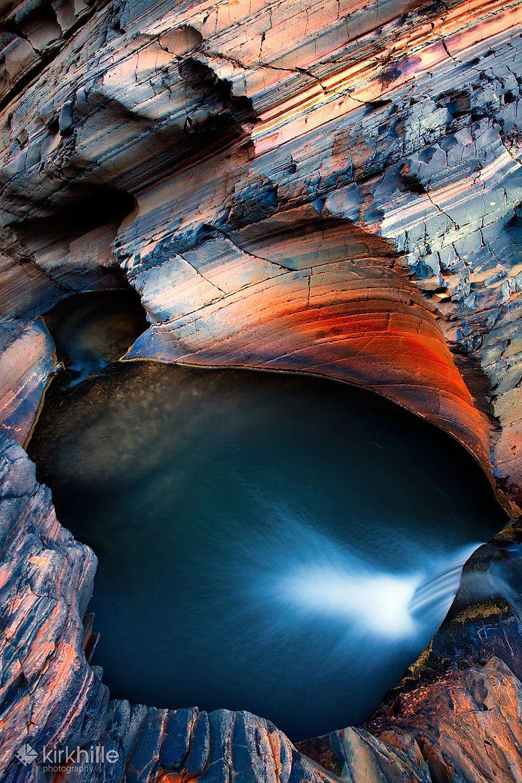Karijini National Park Western Australia centred in