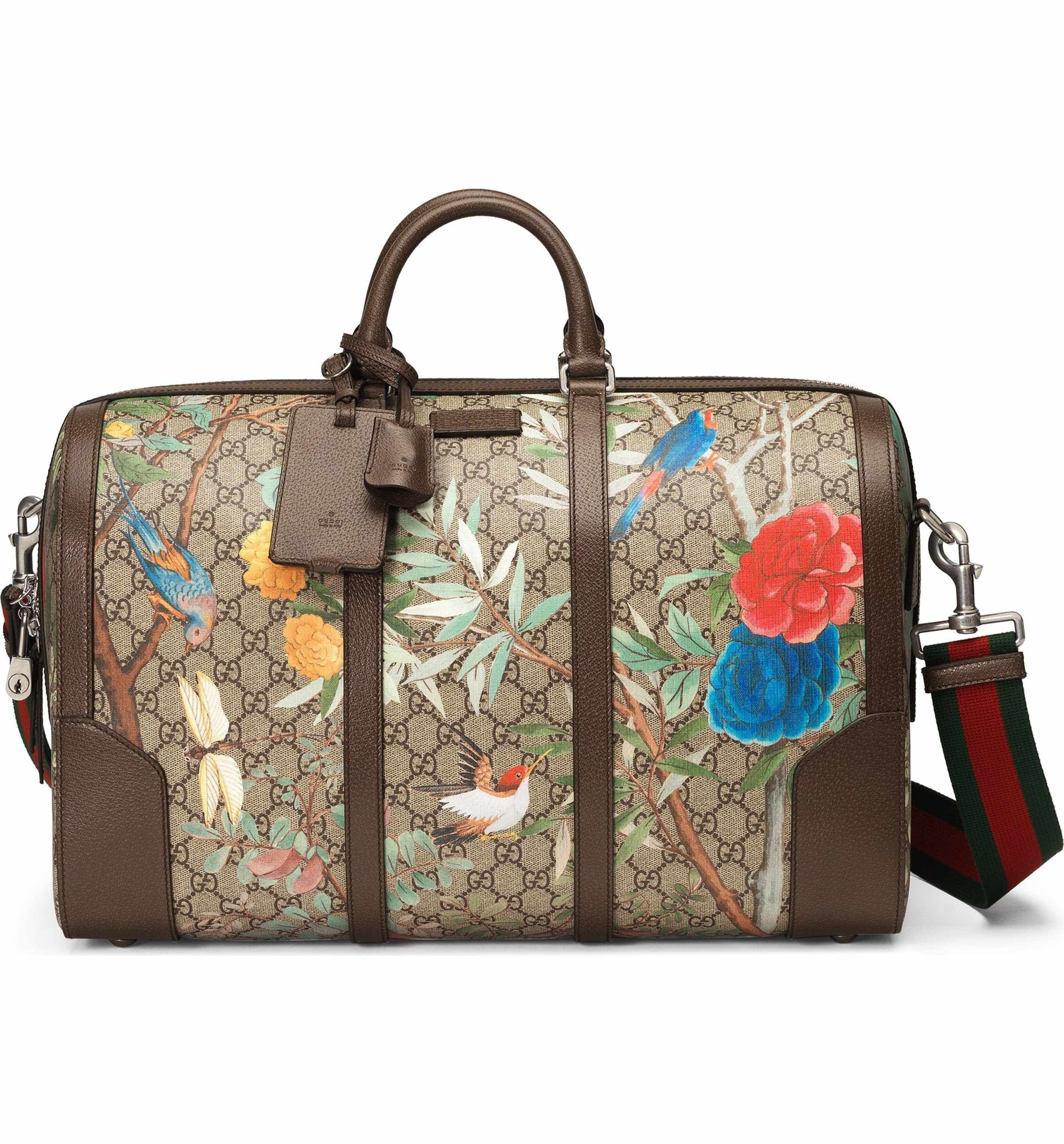 c579d731daf Main Image - Gucci Tian GG Supreme Large Canvas Duffel Bag | Bags ...