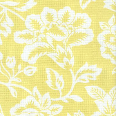 Yellow Floral Curtain Fabric Curtains Pinterest