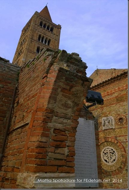 Abbazia di Pomposa, il campanile, Photo1 by Mattia Spolladore