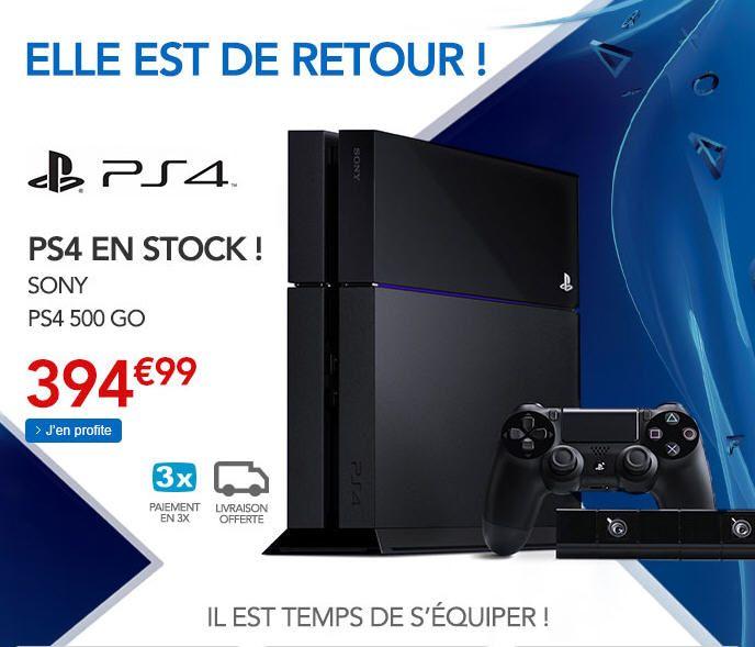 Console ps4 pas cher console rue du commerce ventes pas jeux video pas cher ps4 - Console jeux video pas cher ...