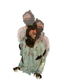 The Howler Animated Werewolf   Animated halloween props ...