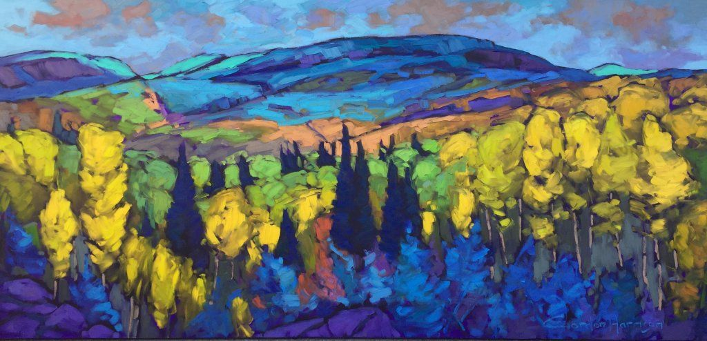 Gordon harrison sca aibaq in 2020 canadian painters