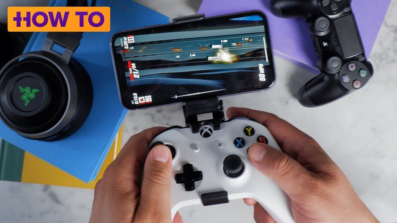 Connect PS4, Xbox One controller to an iPhone YouTube
