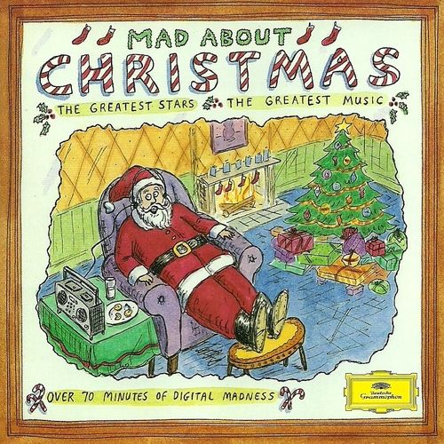 1994 Mad About Christmas [Deutsche Grammophon 445766-2] cover illustrations: Roz Chast #albumcover