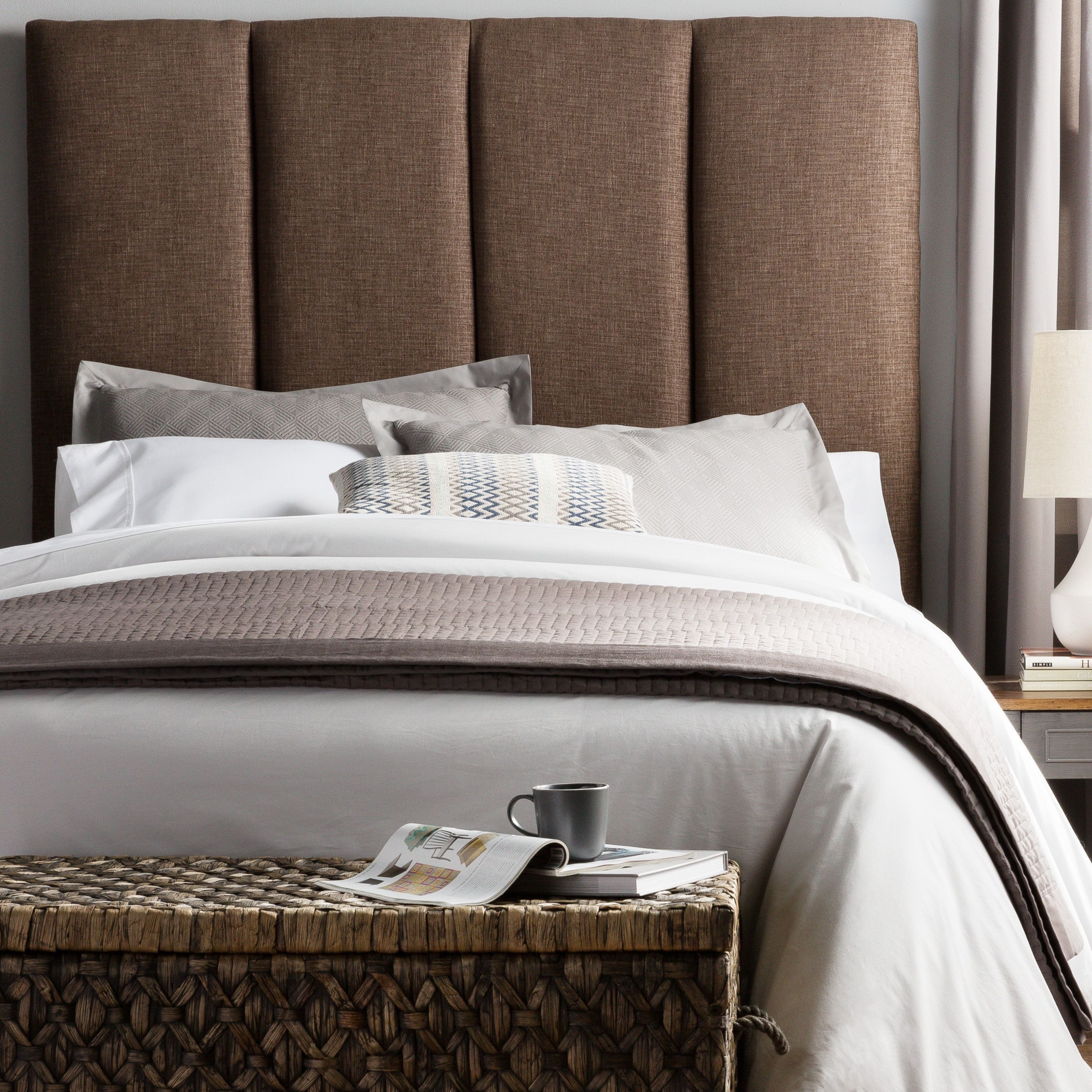 humble haute victoria tall size dark chocolate upholstered rh pinterest com