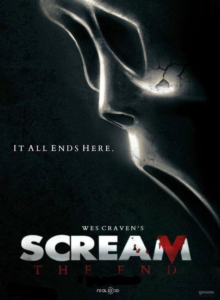 Scream 5 The End Horror Horror Movie Fan Movies By Genre