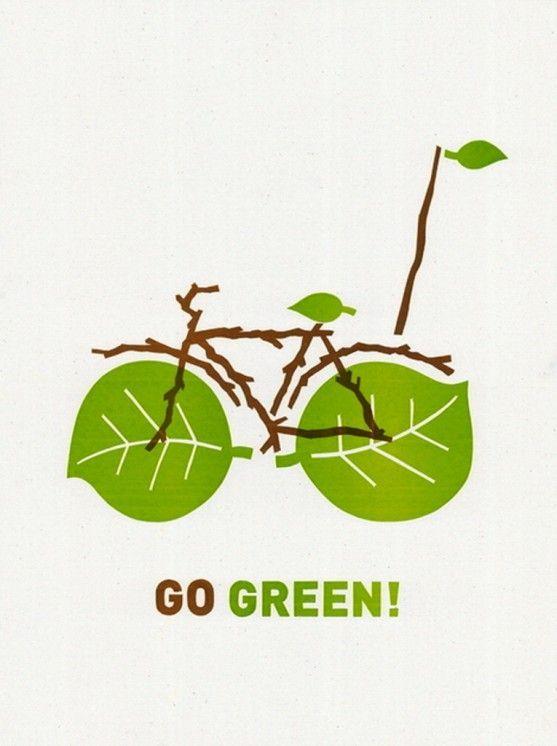 Poster Cabaret Bike Print Set Giveaway Lingkungan Hidup Hijau Hidup