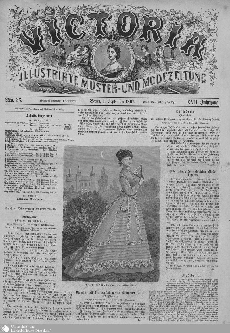 121 - Nro. 33. 1. September - Victoria - Seite - Digitale Sammlungen - Digitale Sammlungen