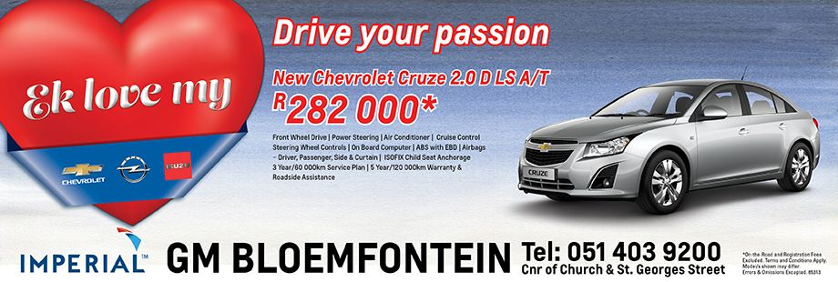 Drive Your Passion In A Chevrolet Cruze 2 0d Ls Auto Chevrolet