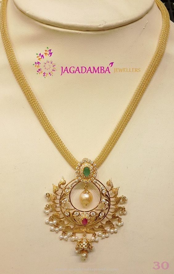 30 Grams Gold Necklace Model
