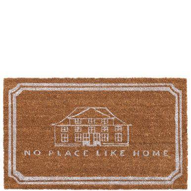 Weil Straßen- oder Gartenschmutz im Haus nichts zu suchen hat: Diese farbenfrohe Fußmatte aus dichter, robuster Kokosfaser leistet saubere Arbeit und heißt Ihre Gäste herzlich willkommen. Exklusiv für Butlers entworfen und produziert. Weitere Motive erhältlich.