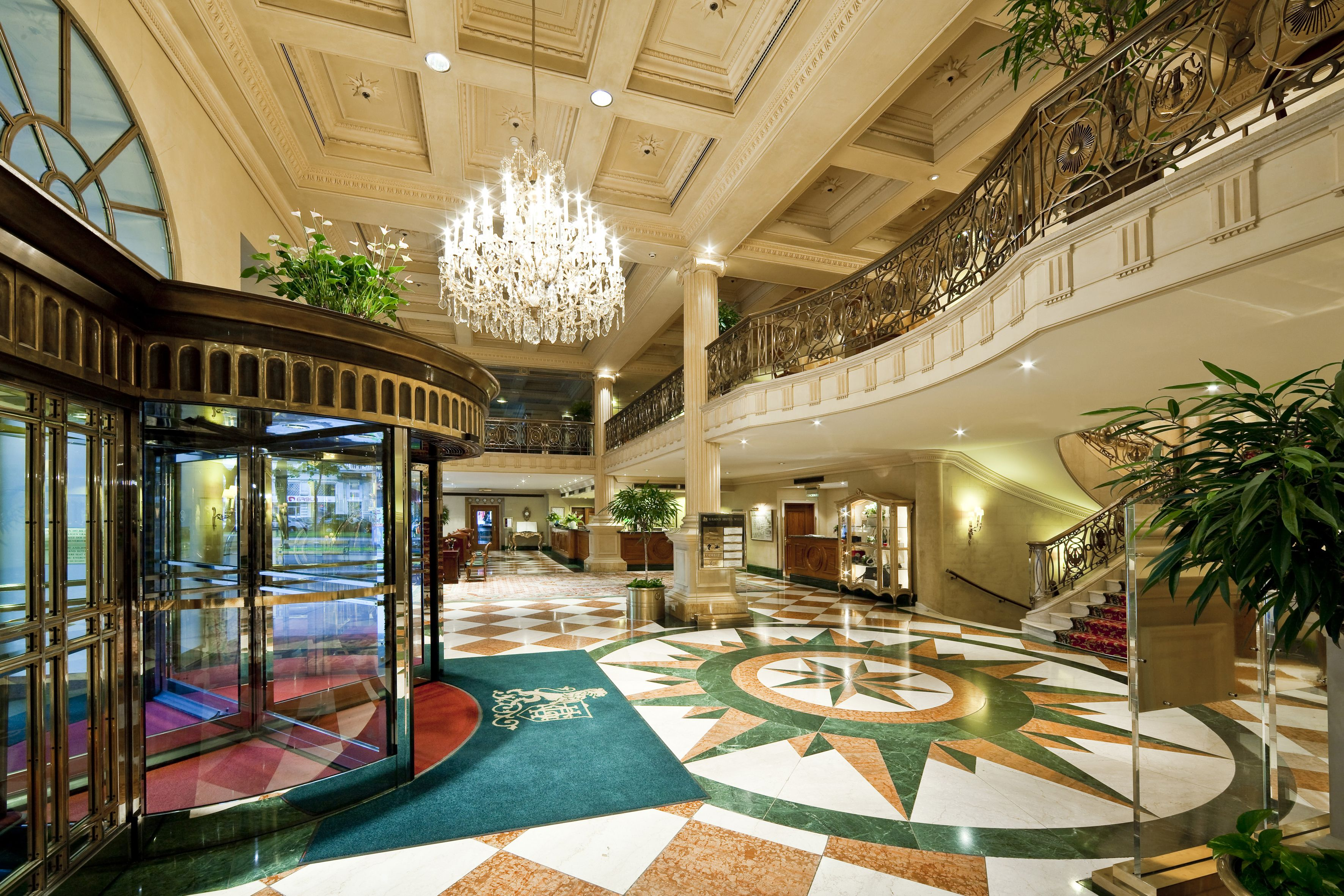 Lobby At 5 Star Hotel Grand Wien This S Address Is Kaerntner Ring 9 Innere Stadt Vienna And Have 205 Rooms