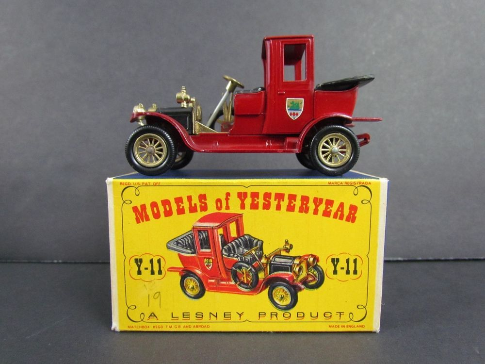 Vtg Matchbox Models Of Yesteryear Y11 1912 Packard Landaulet England Lesney Matchbox Diecast Cars Packard