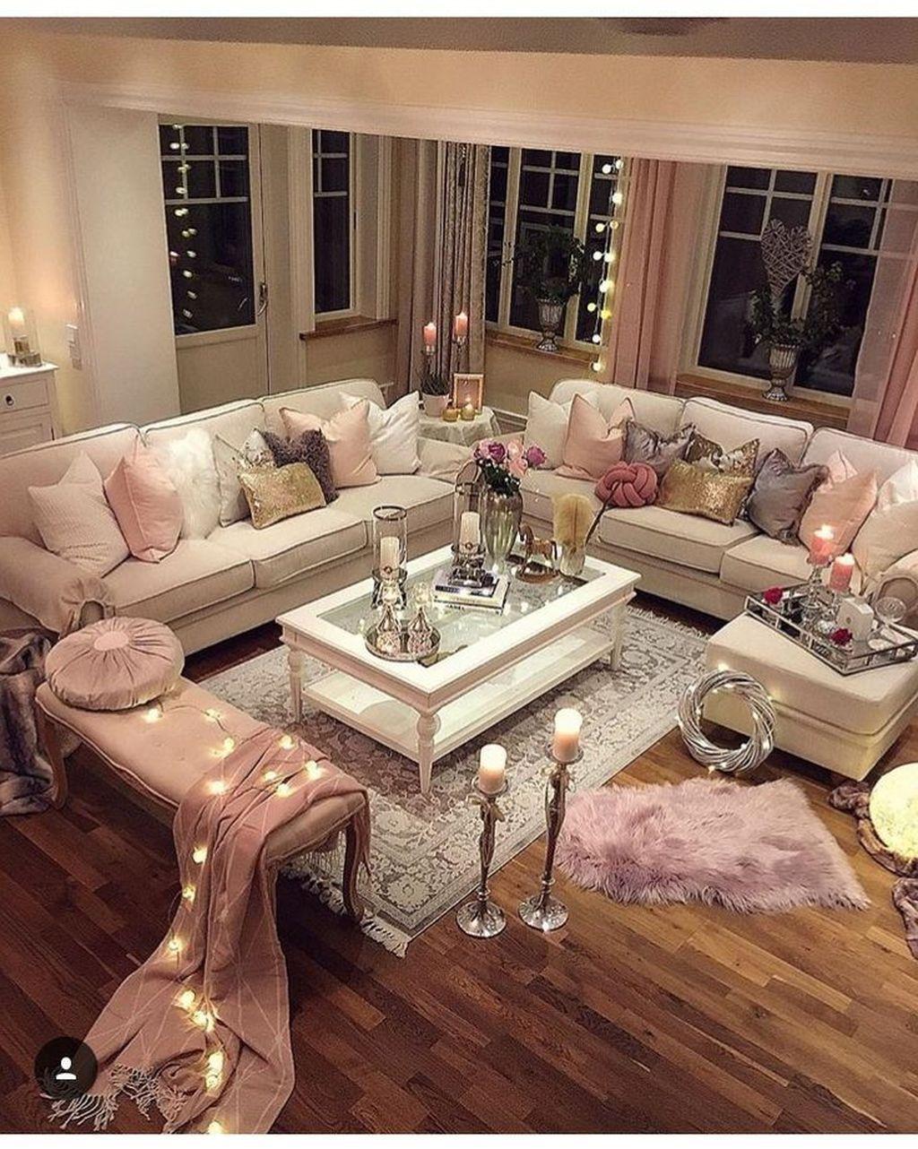 Nice Shabby Chic Living Room Decor You Need To Have Girly Living Room Pink Living Room Decor Chic Living Room Decor #shabby #chic #living #room #decorating #ideas