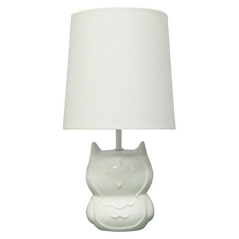 Circo™ Ceramic Table Lamp & Shade - Owl (with bulb) | Table lamp ...