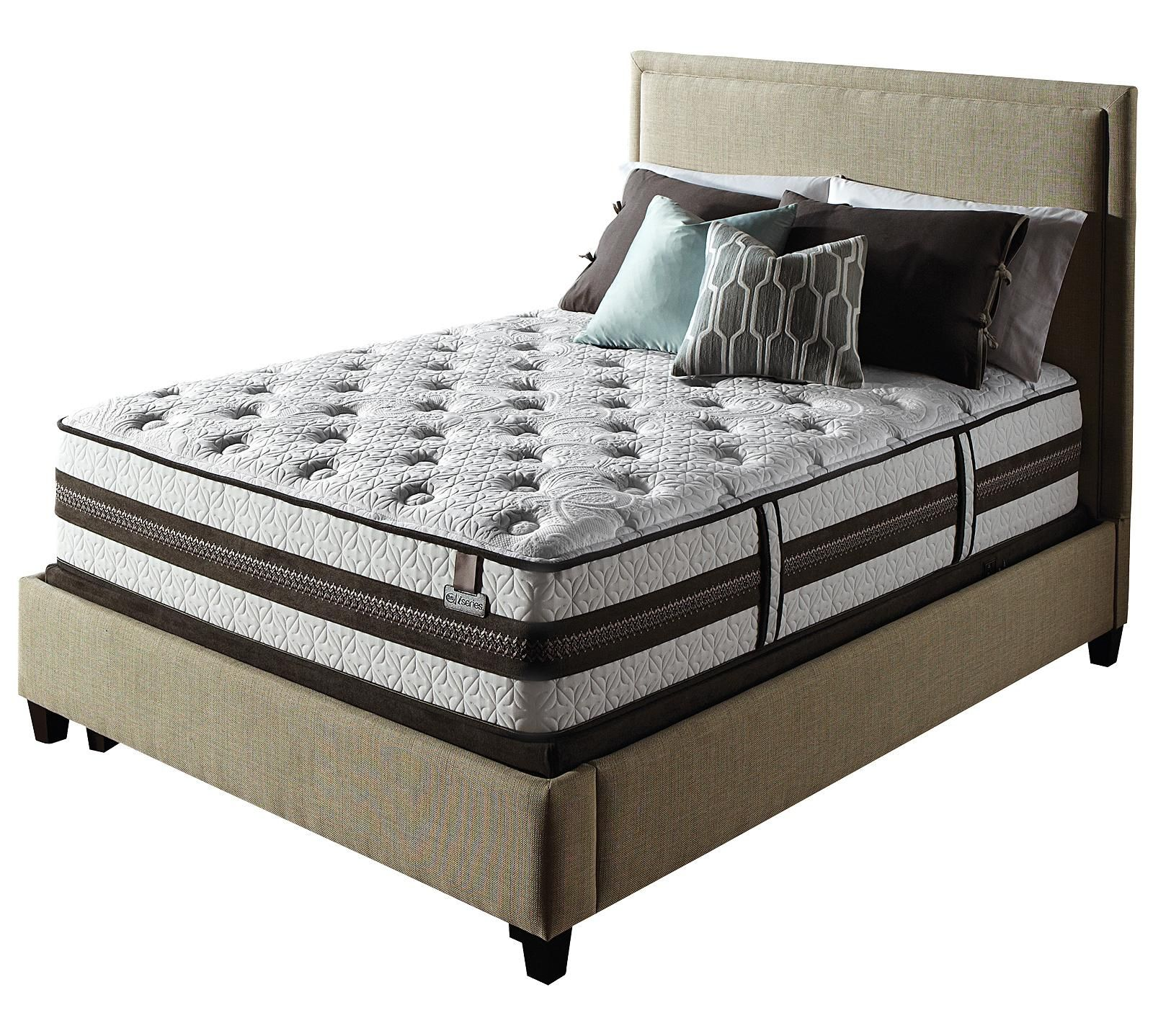 serta iseries profiles cushion firm mattress the cushion firm feel