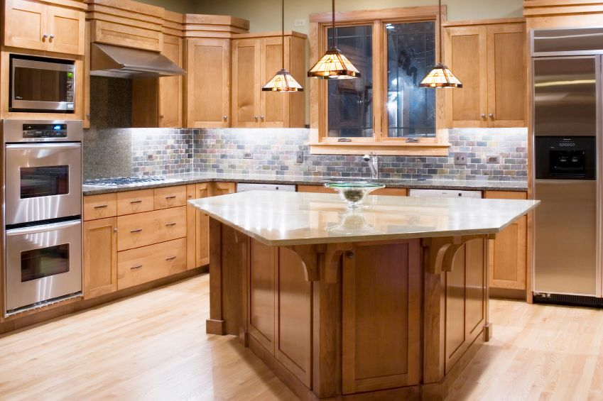 49 Contemporary HighEnd Natural Wood Kitchen Designs Bricks