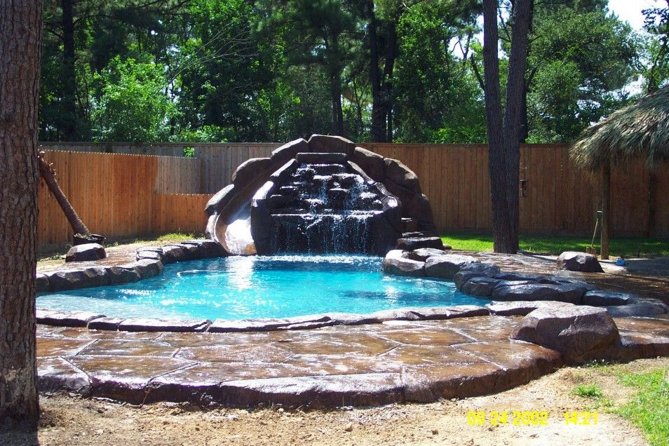 backyard pool ideas for home cool amazing backyard pools backyard waterfalls ideas for your home space. beautiful ideas. Home Design Ideas