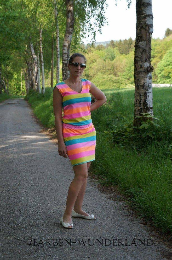 Strandkleid damen schnittmuster